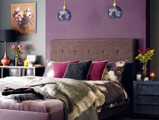 purple and grey color theme