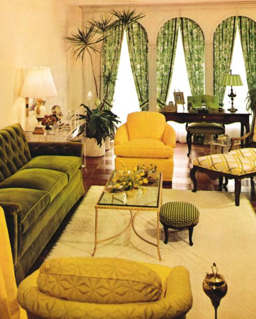 1970s Color Inspiration Room