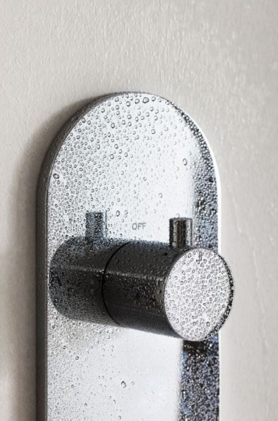 M-Sereis Round Thermostatic Trim Plate and Handle