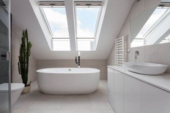 A skylight could lead to problems.