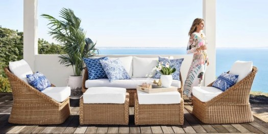 AERIN Collection outdoors