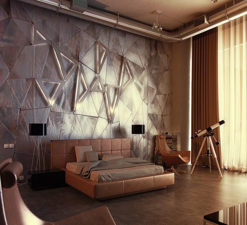 Interessante und moderne Lichtgestaltung im Schlafzimmer