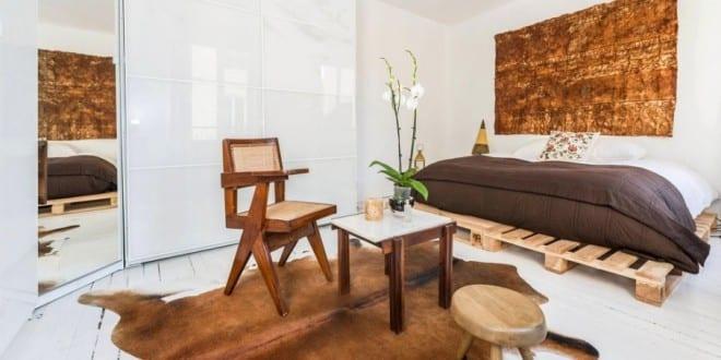21 Ideen fr Palettenbett im Schlafzimmer  fresHouse