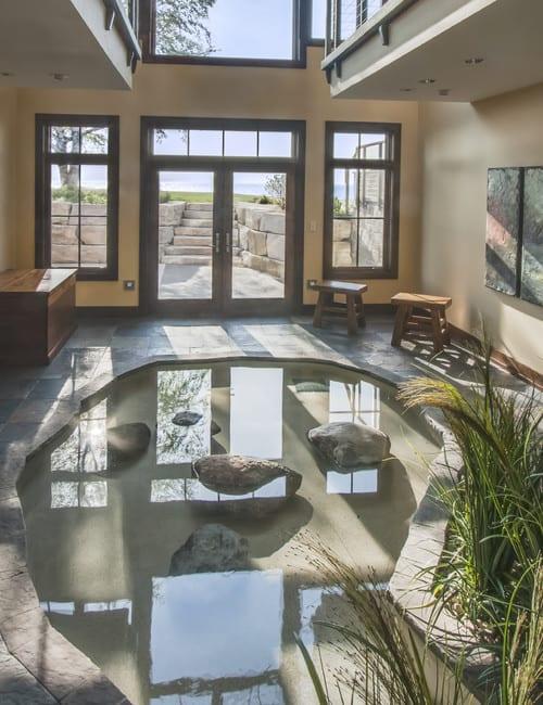 Wassereinrichtung im Innenraum  fresHouse