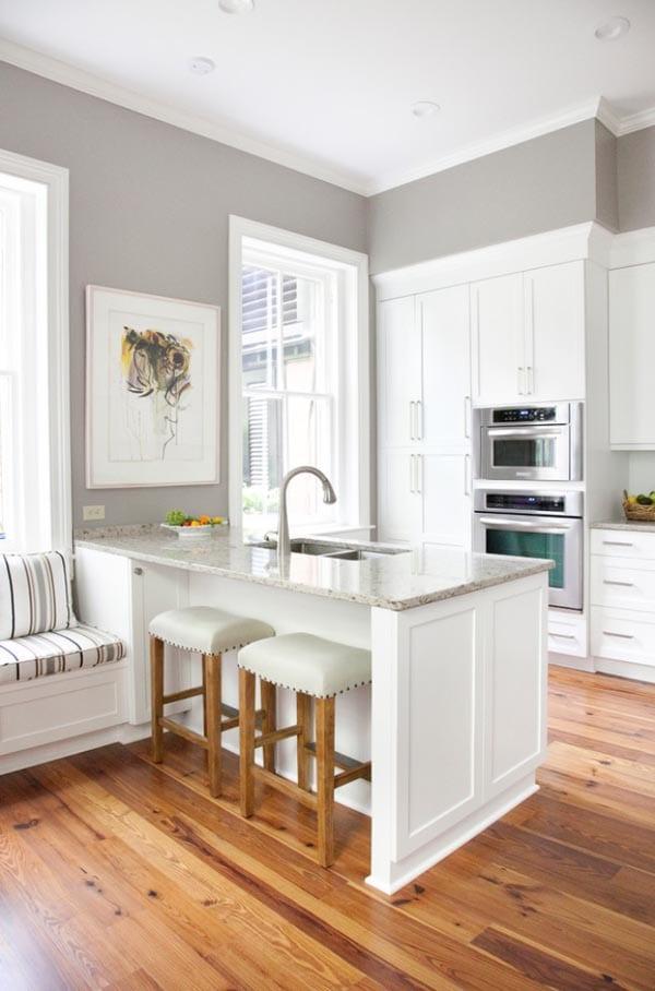 Kleine Kücheneinrichtung Ideen | 50 Moderne Landhausküchen ...
