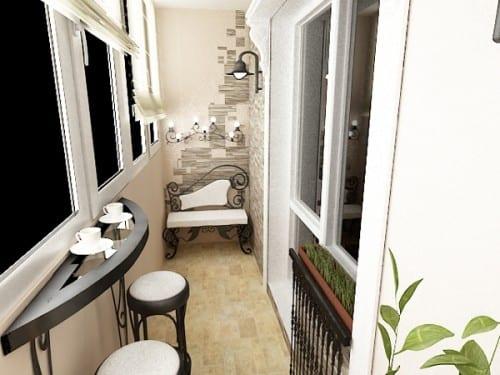 Balkon Ideen  interessante Einrichtungsideen kleiner Balkons  fresHouse