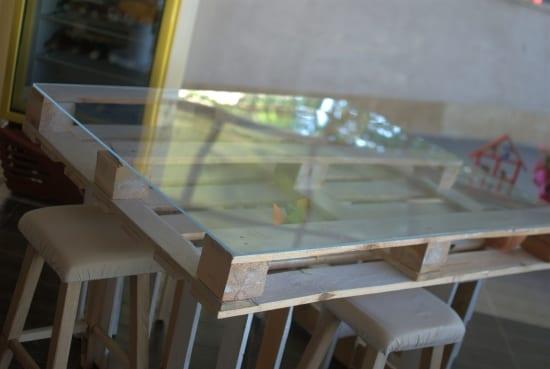 bartisch aus paletten  fresHouse