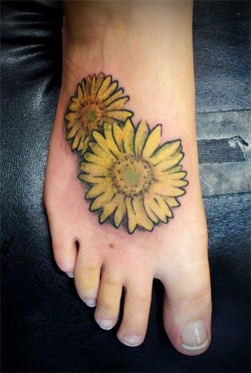 fu tattoo motivesonnenblume  fresHouse