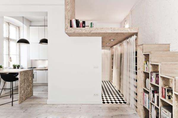 Einrichtungsidee eines 29 m groen Apartments in Polen  fresHouse