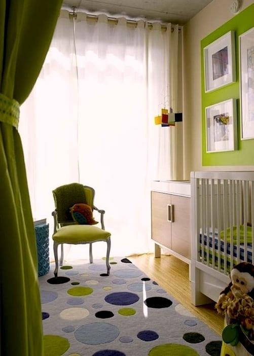 Kinderzimmer GRN  40 Gestaltungsideen fr Kinderzimmer  fresHouse
