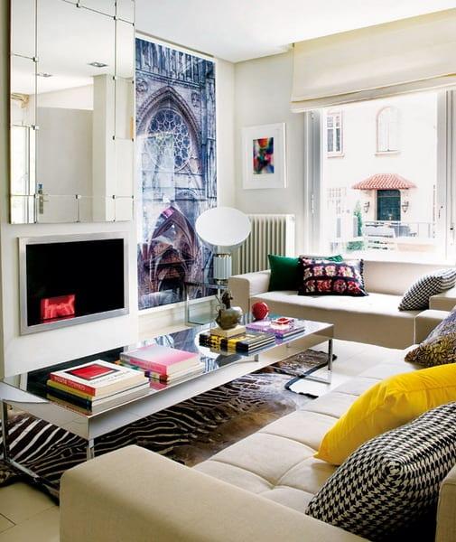 Kleines Wohnzimmer Einrichten  Gestaltungsidee fr kleine