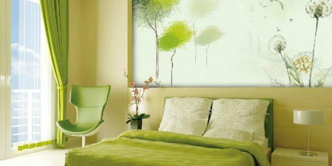 Wand Streichen Ideen In Grün Freshouse ...