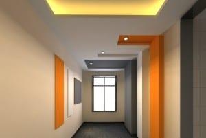 Farbgestaltung Flur  fresHouse