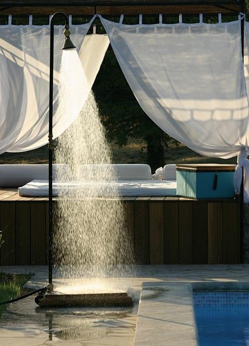 Auendusche  Gartengestaltung mit Dusche im Auenbereich  fresHouse