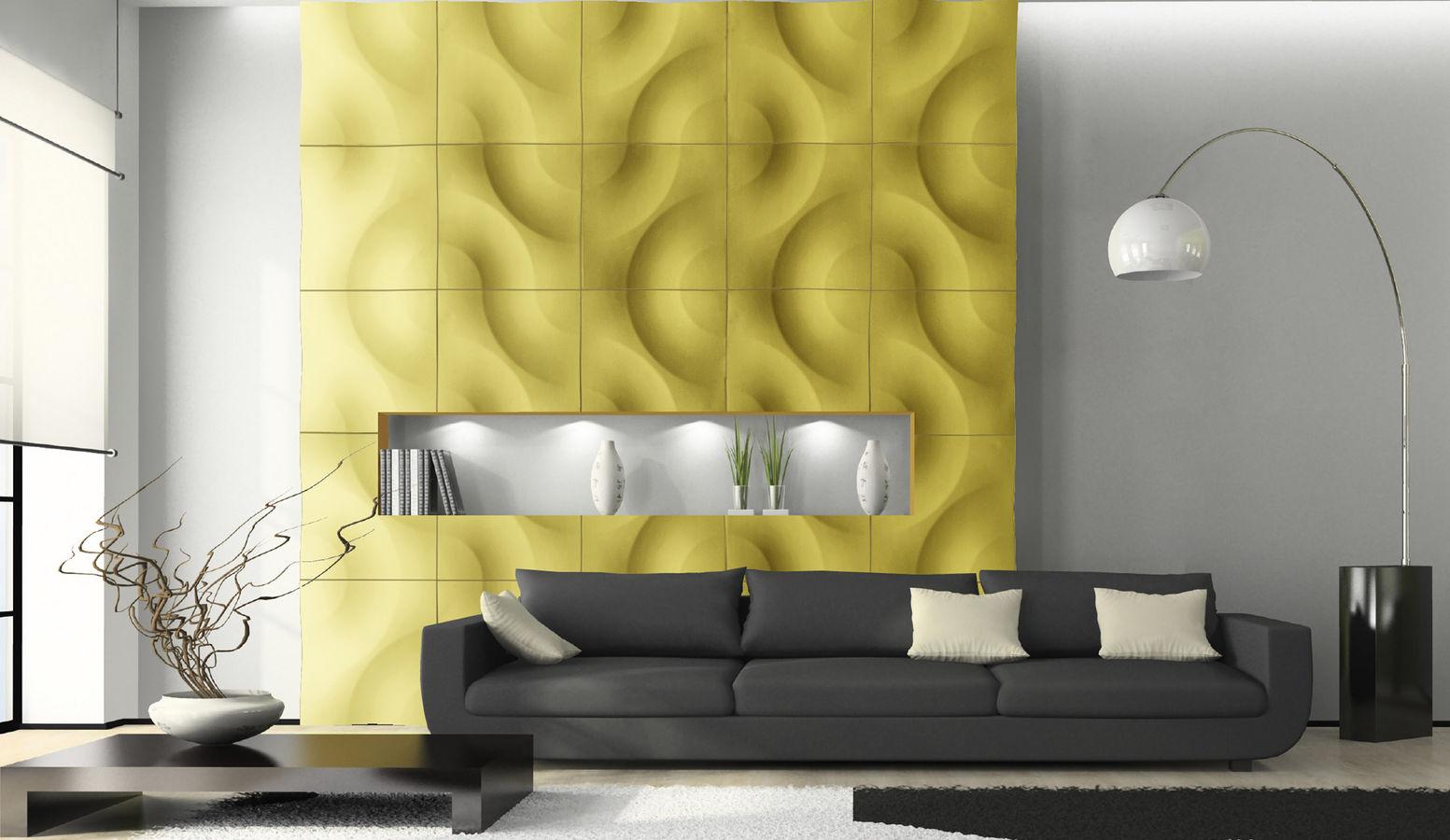 Gelbe Wand  20 Ideen fr gelbe Farbgestaltung  fresHouse