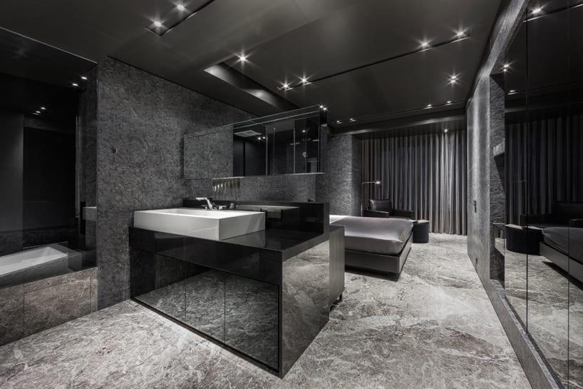 Luxus Inneneinrichtung  Home in Black Serenity von Atelierii  Just Make Design  fresHouse