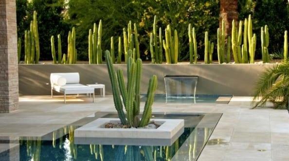 Terrassengestaltung mit Wasser  fresHouse