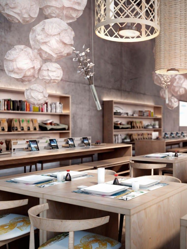 Moderne Inneneinrichtung  Restaurant El Japones22