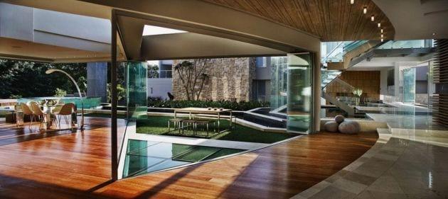 Garten im Haus  moderne Huser mit Gartengestaltungsideen