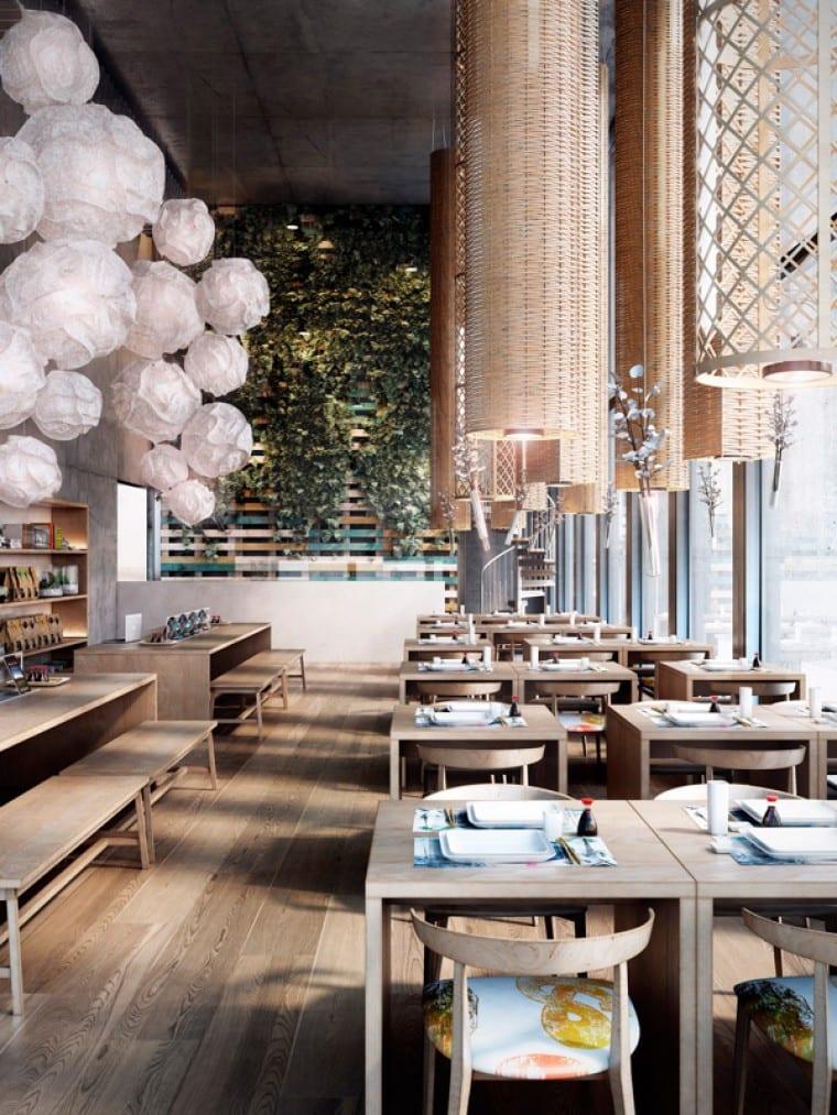 Moderne Inneneinrichtung  Restaurant El Japones22  fresHouse