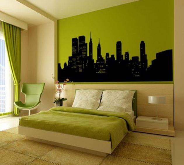 Wandtattoo  50 Wandgestaltungsideen  fresHouse