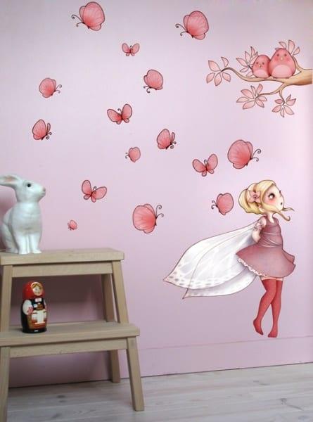 Wandtattoo Kinderzimmer  kreative Kinderzimmergestaltung