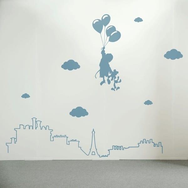 Wandtattoo Kinderzimmer  kreative Kinderzimmergestaltung  fresHouse