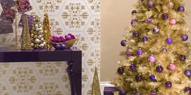 Weihnachtsbaum  bunte Weihnachtsdeko Ideen  fresHouse