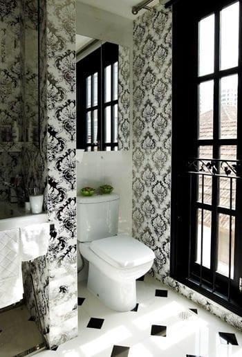 Badezimmer Schwarz Wei  fresHouse