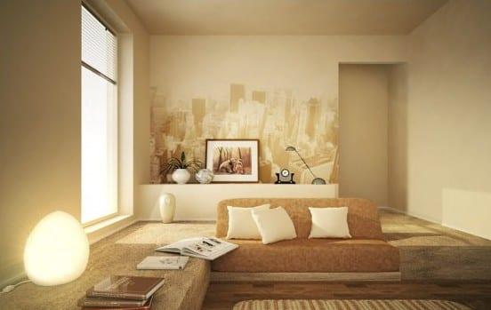 Stylisches Wohnzimmer - Design