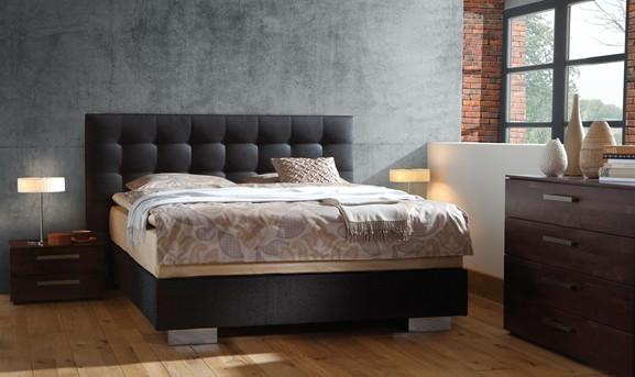 Box Spring Bett  25 Ideen fr modernes Schlafzimmer mit boxspring Bett  fresHouse