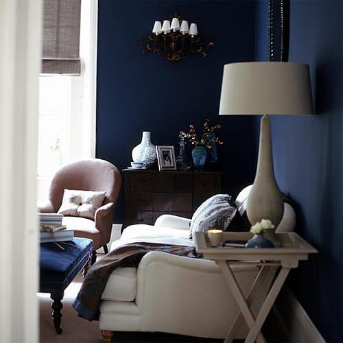 24 Grun Blau Wandfarbe