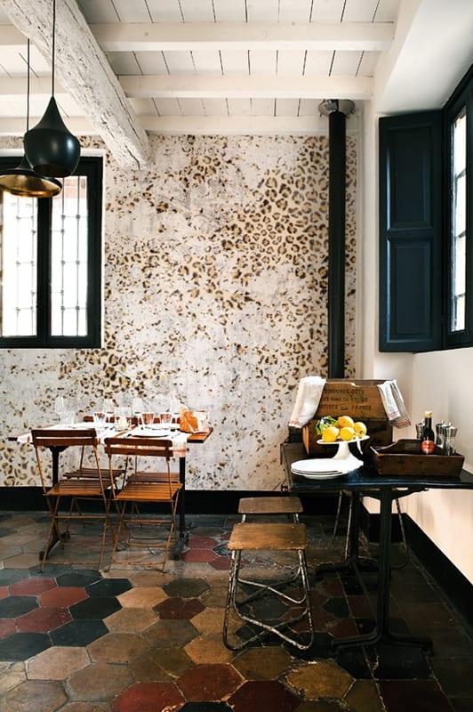 Innenraumgestaltung  coole Mustertapeten von WallDeco