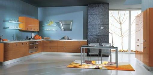 Kche Wandfarbe  40 Ideen fr Farbgestaltung der Kche  fresHouse