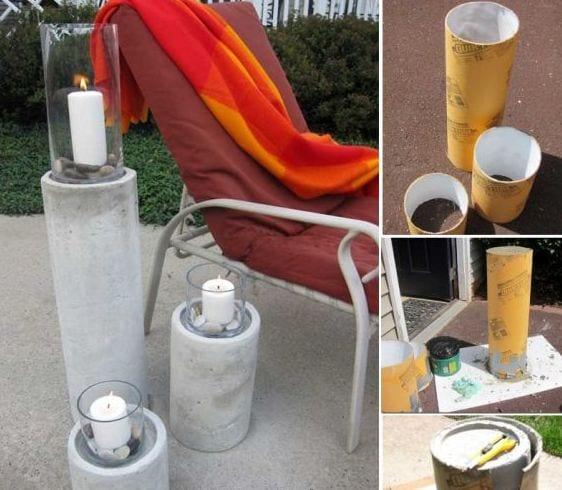 kreatives aus beton selber machen – nomadx, Gartenarbeit ideen