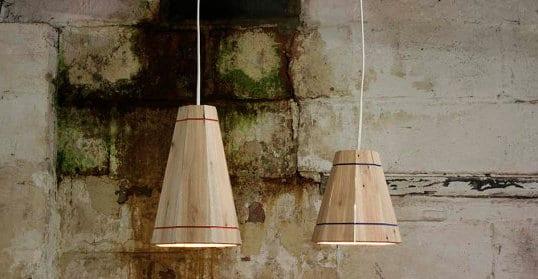 Lampen selber basteln coole Pendelleuchten aus Paletten