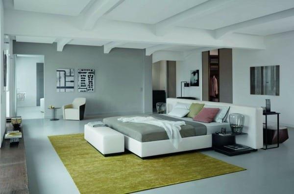 Teppichbode Schlafzimmer Grau | Möbelideen