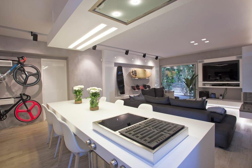 luxus wohnzimmer wohn esszimmer ideen freshouse moderne luxus ... - Wandgestaltung Wohn