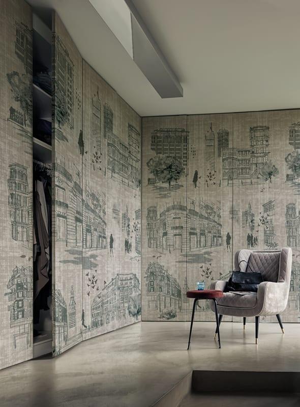 Innenraumgestaltung  coole Mustertapeten von WallDeco fr stilvolle Wandgestaltung  fresHouse