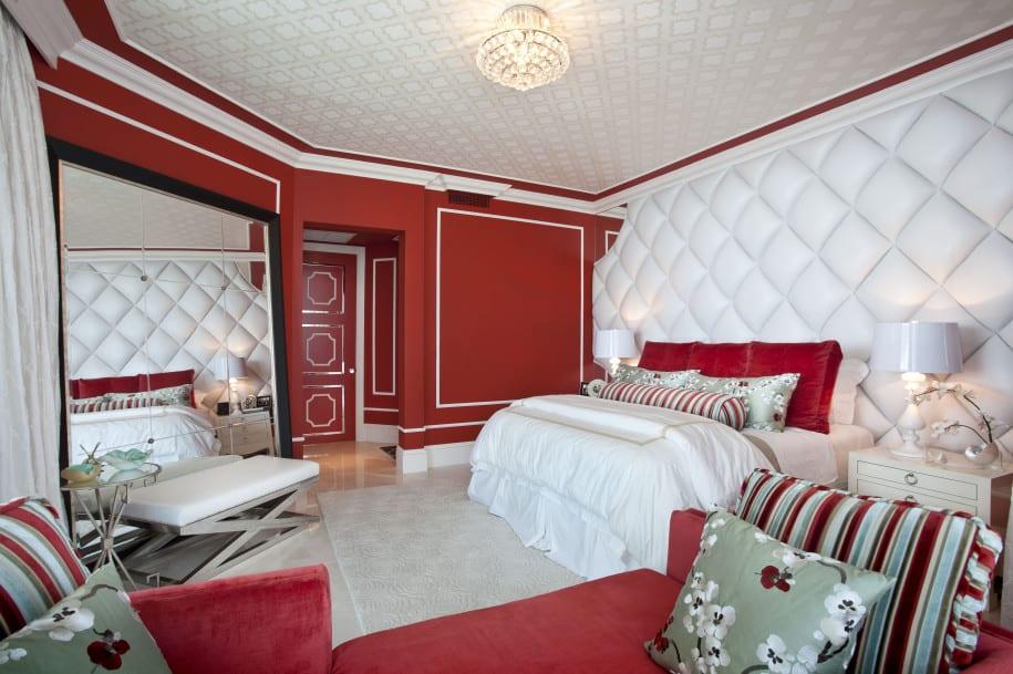 Schlafzimmer Rot  50 Schlafzimmer Inspirationen in rot