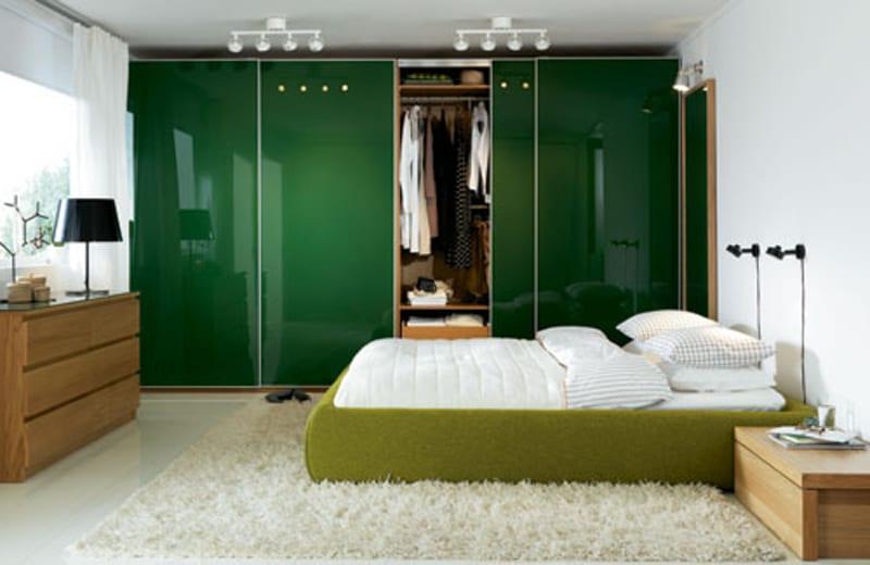 Schlafzimmer Wandfarbe  Ideen fr grelle SchlafzimmerFarbgestaltung  fresHouse