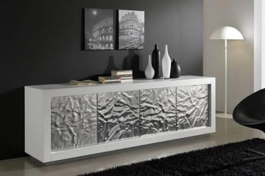 wohnzimmer silber wei modern dekoo - boisholz, Modern haus
