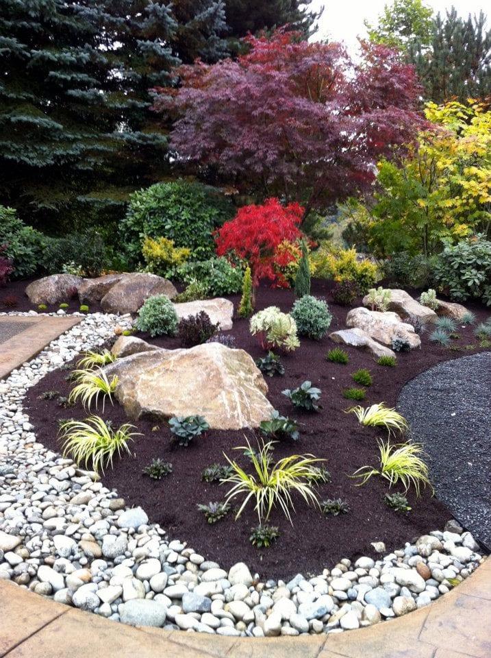 Steingarten 60 Ideen japanischer Gartengestaltung fr einen Traumgarten  fresHouse