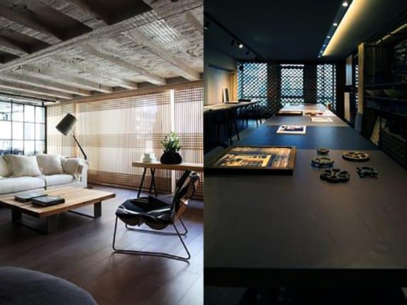 Minimalistisches Design Wohnzimmer