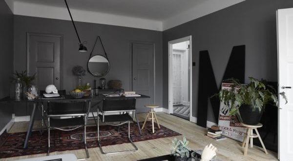 wandfarbe grauwohnzimmer streichen ideen  fresHouse