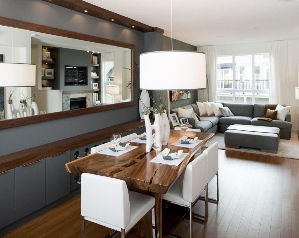 Wohn Und Esszimmer Kombinieren Kueche Und Wohnbereich Kombinieren Ideen  With Esszimmer Kombinieren