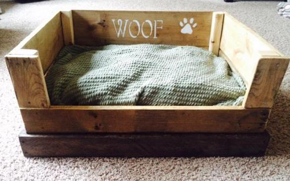 DIY Hundehtte und Hundebett aus Paletten  fresHouse