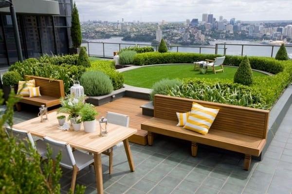 Gartengestaltung Terrasse Ideen – Domenoblog Info