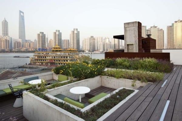 Dachterrasse und Balkon Bepflanzen  fresHouse