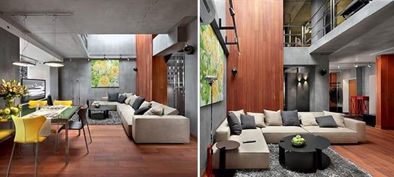 Luxus Interior Ideen mit Beton  Inspirationen fr